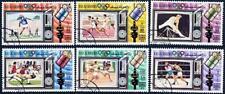 👉 RAS AL KHAIMA (UAE) 1972 MUNICH OLYMPIAD  CTO SPACE, FOOTBALL, GYMNASTICS