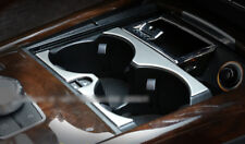 Interior Front Water Cup Holder Cover Trim 2pcs For Benz E Class W212 2014-2015