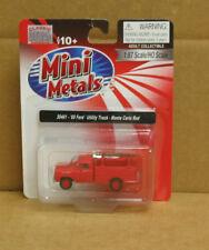 MiniMetals 30461 HO 1960 Ford Utility Truck, Monte Carlo Red