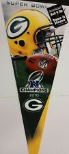 """NFL Green Bay Packers 12"""" x 30"""" Premium Pennant (2010 NFC Champions) New"""