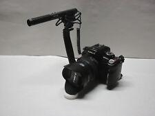Pro SL2 AZ SM-2 SL stereo shotgun mic for Canon T7i T6i T6s T6 T5i SL2 SL1 T3i