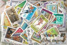 Mongolei 300 nur verschiedene Briefmarken Mongolei-Sammlung