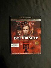 DOCTOR SLEEP 4K + BLU-RAY WITH SLIPCOVER NO DIGITAL, LOT D4.
