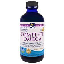 Nordic Naturals, Complete Omega, Lemon, 8 fl oz (237 ml)