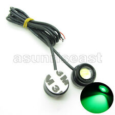 10 x Green DC12V 3W Eagle Eye Car LED Daytime Running DRL Light Tail With Tape
