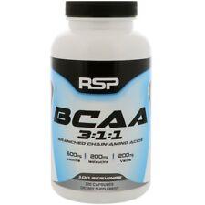 BCAA CAPSULES 1000 mg 3:1:1: 100% Pure Leucine Isoleucine Valine RSP - 200 CAPS
