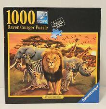 """Ravensburger African Splendor 1000 Piece Premium 27"""" x 20"""" Puzzle #82 214"""