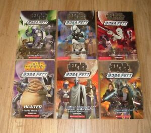 STAR WARS Boba Fett Complete Series #1-6 Paperback Terry Bisson Books LOT