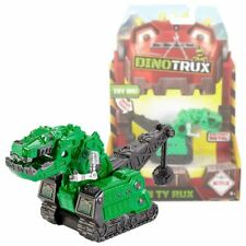 New Dinotrux Green Ty Rux Die-Cast Metal Vehicle Figure Pack Dreamworks Official