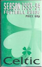Celtic FC 'Wee Green Book' 1993-94 Football Guide