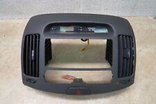 07-10 Hyundai Elantra CENTER DASH RADIO BEZEL CLOCK HAZARD SWITCH OEM