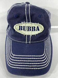 Bubba Gump Shrimp Co Baseball Hat Cap Dark Blue Adjustable