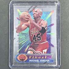 1994-95 Topps Finest MICHAEL JORDAN Base #331 - Coating On