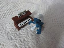 Smurfs Piano Smurf 40229 Rare Vintage Figure PVC Toy Classic Figurine Schleich