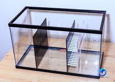 DLUX SUMP / REFUGIUM KIT (BK/CLR) for 10 Gallon Aquarium - Oceanbox Designs®