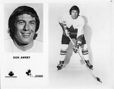 Don Awrey team Canada 1972 Unsigned 8x10 Photo