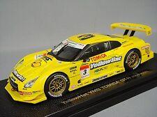 Ebbro 1/43 Yellow Hat Nissan GT-R 2008 Super GT500 #3 R. Quintarelli/N. Yokomizo