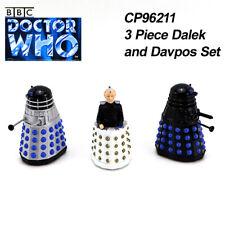 CORGI TOYS BBC TV DOCTOR WHO CP96211 3Pcs Dalek and Davpos Set Die-cast Figures