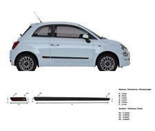 Türschutzleisten Rammschutz für Fiat 500 Hatchback 3-Türer 2007-
