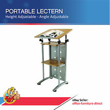 Lectern, Portable Presentation, Conference, Office Lecturn, Meeting, Adjustable