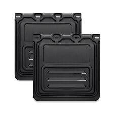 Mud Flap Aero 24x24 no cut for Semi Truck & Trailer - 1 Pair (2pcs)
