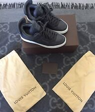 100% AUTHENTIC LOUIS VUITTON DON X KANYE WEST ANTHRACITE LV 7 US 8.5 JASPER RARE