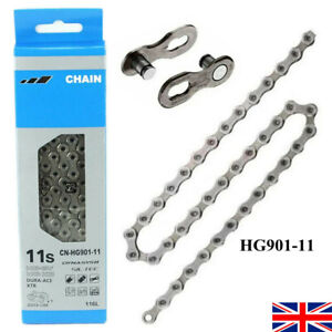 For Shimano CN-HG901 XTR M9000 Chain - 11 Speed 116L Quick Link MTB Bike Bicycle