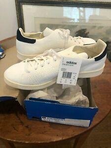 Adidas Stan Smith OG Primeknit White/Navy New in Box Size 9.5