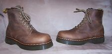 NEW RARE Dr Martens 8499 Brown Aztec Crazy Horse 8 eye Boots UK 11 US 12 England