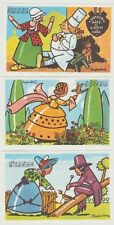 Lot 3 images récompenses scolaires Chansons françaises Raylambert