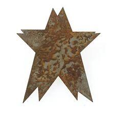 3 inch Rustic Accents Folk Star 4 pieces     B233
