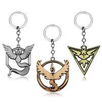 Pokemon Valor Mystic Instinct Team Pins W// Pokeball Point Metal Pin GO White