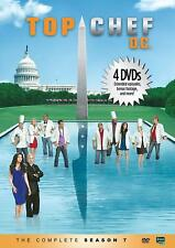 Top Chef - Season 7 - D.C. (DVD, 2010, 4-Disc Set) Brand New, Factory Sealed