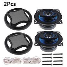 "2X 100W 4"" 3Way Car Hifi Loud Speaker Coaxial Horn Auto Stereo Audio Loudspeaker"