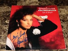 Gloria Estefan Authentic Signed Vinyl LP Record Miami Sound Machine Let It Loose