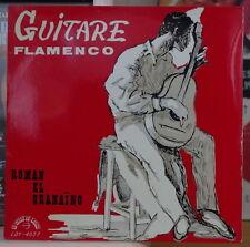 ROMAN EL GRANAINO GUITARE FLAMENCO FRENCH EP DISQUES LE CHANT DU MONDE
