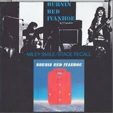 """Burnin Red Ivanhoe: """"Miley Smile/STAGE recall & Shorts"""" (2 on 1 CD)"""