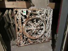 ~ Antique Cast Iron Window Gate Very Fancy ~ 22 X 22 ~ Architectural Salvage ~