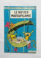 BD - Spirou Le nid des Marsupilamis 12 / FRANQUIN / 1972 / PUB TOTAL / DUPUIS