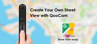 Kandao QooCam Interchangeable 4K 360 and 3D 180 Camera. Google Street View Ready