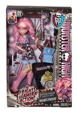 Monster High HAUNTLYWOOD Frights Camera Action VIPERINE GORGON Black Carpet Doll