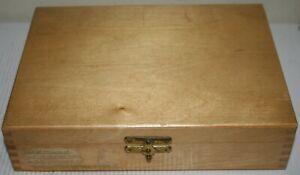 Rowi 2x2 / 35mm / Half Frame Universal Slide Wooden Storage Box For 100 Slides