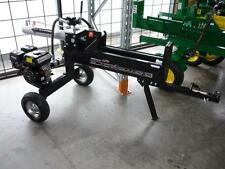 22 TON Hydraulic Wood LOG SPLITTER 6.5hp 4 Stroke BLACK DIAMOND