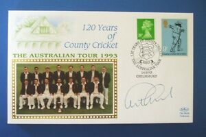 BENHAM 1993 120 YEARS OF COUNTY CRICKET COVER SIGNED BY GRAHAM GOOCH