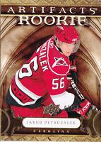 09-10 Artifacts Jakub Petruzalek /50 Rookie GOLD RC