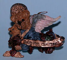 Boyds Bears ornament Matthew w Kip, #2508, Nib 1997, baby's first Christmas ret