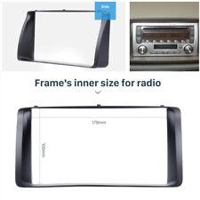 Classic 2Din Car Radio Fascia CD Trim Bezel Audio Frame for 03-06 Toyota Corolla