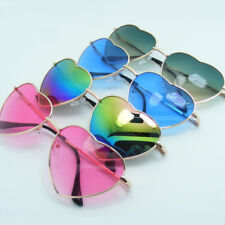 e1e6fac471 Fashion Womens Summer Heart Shaped Lolita Sunglasses Fancy Eyewear Glasses  US