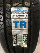 1 New 245 60 18 Cooper Discoverer CTS Tire