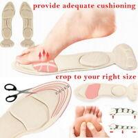 2 in 1 Schuh Einlegesohlen Kissen Arch Orthesen Massage Fersen Schwamm Anti Pain